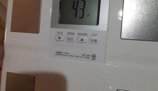 3kg痩せへ(~_~;)【コロナ自粛明けの体管理に】タニタの体組成計が私のパートナー!